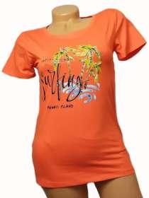 Ági rövidujjú póló Narancssárga