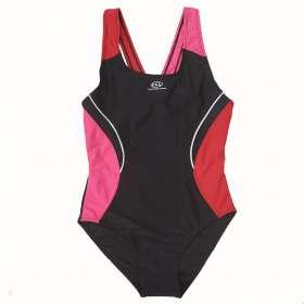 Ccl lány úszódressz Piros-fekete-pink