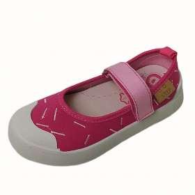 Dd step vászoncipő Dark pink