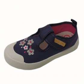 Dd step vászoncipő Royal blue