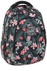Budmil trópusi virág Iskolatáska