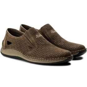 Rieker férfi cipő Bebújós,lyukacsos
