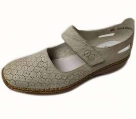 Rieker drapp női Pántos cipő